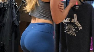 candid girls yoga pants